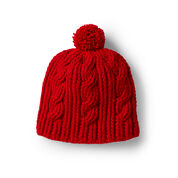 Go to Product: Red Heart Crochet Cable Rib Hat in color