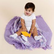 Red Heart Crochet Baby Playtime Blanket