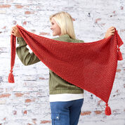 Go to Product: Red Heart Fall Berries Shawl in color