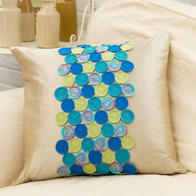 Aunt Lydia's Circling Accent Pillow in color