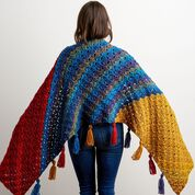 Go to Product: Bernat Crochet Cozy Blanket Scarf in color