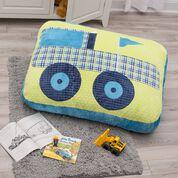 Dual Duty Monster Truck Floor Pillow