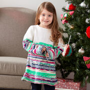 Go to Product: Red Heart Girl's Sweater Dress, 2 yrs in color