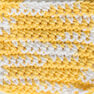 Lily Sugar'n Cream Ombres Yarn, Daisy Ombre in color Daisy Ombre