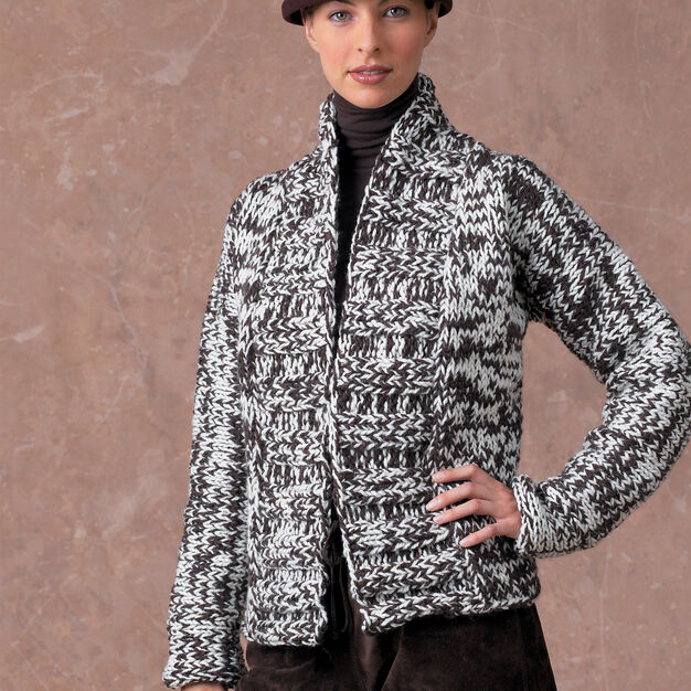 Patons Tweed Jacket , S in color