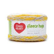 Go to Product: Red Heart Fleece Hugs Yarn in color Dandelion