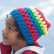 Go to Product: Caron Rainbow Granny Stripes Hat, 2/4 years in color