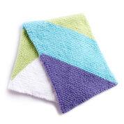 Bernat Baby Chevron Knit Blanket