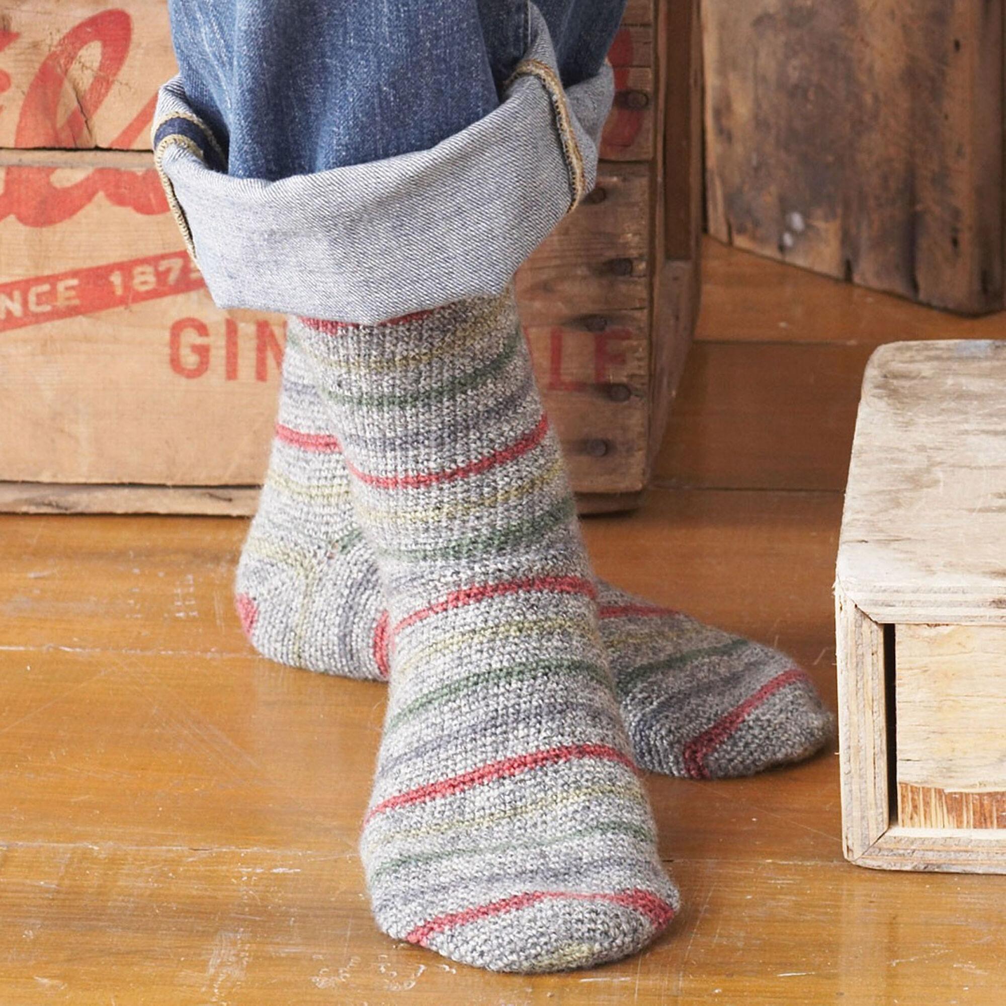 Patons Toe Up Socks, Kids - Size 2-4 | Yarnspirations