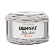 Go to Product: Bernat Blanket Stripes Yarn (300g/10.5 oz) in color Gray Matters