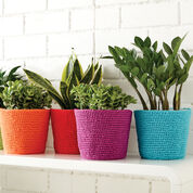 Phentex Simple Flower Pot Cozy, Red