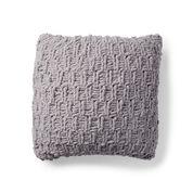 Bernat Rambling Knit Cushion