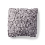 Bernat Rambling Knit Cushion