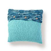 Bernat Button Up Knit Pillow