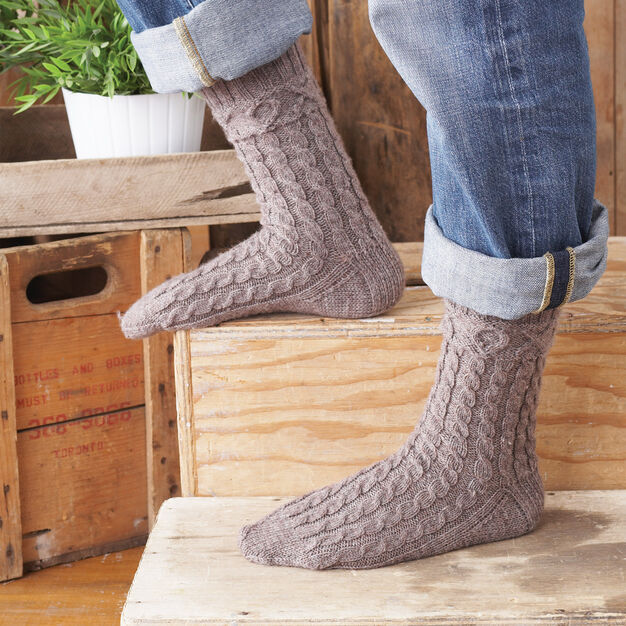 Patons XOX Socks for Him, S