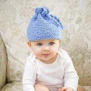 Red Heart Garter Stitch Baby Hat