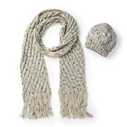 Caron Easy Knit Hat & Scarf, Hat