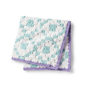 Go to Product: Bernat Geometric C2C Crochet Blanket in color