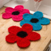 Go to Product: Red Heart Fancy Flower Scrubber in color