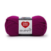 Go to Product: Red Heart Chic Sheep Yarn by Marly Bird in color Dragon Fruit