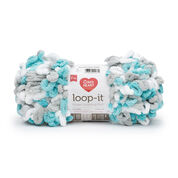 Go to Product: Red Heart Loop-It Yarn (200 g/7 oz) in color Play It Cool