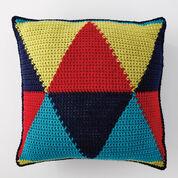 Bernat Bold Angles Pillow, Version 1