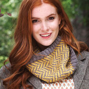 Go to Product: Patons Step 1: Chevron Cowl, Version A in color