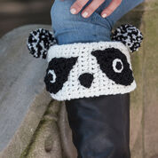 Go to Product: Red Heart Panda Boot Cuffs, Tween in color