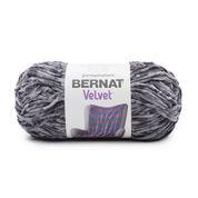 Bernat Velvet Yarn, Vapor Gray