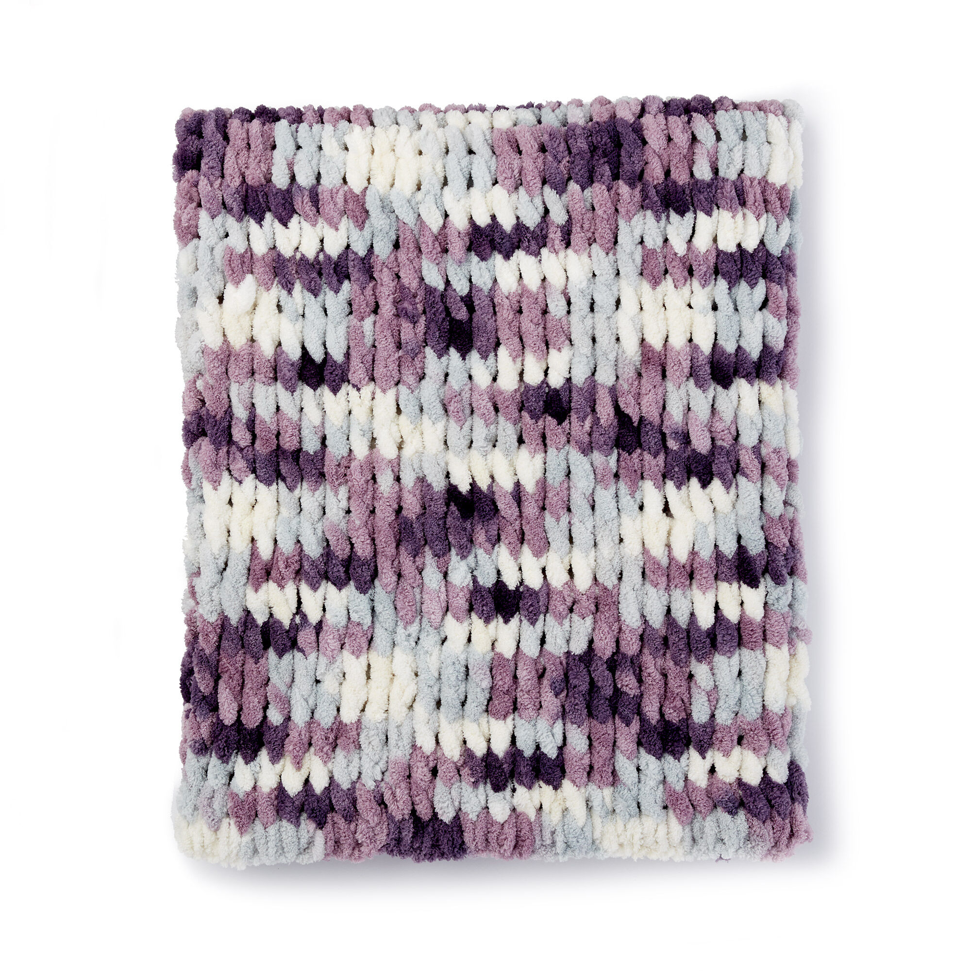How many skeins of loop yarn to make a baby blanket