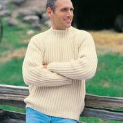 177b73c6dc5fc Free Knitting Pattern For Raglan Aran Pullover Knitted ...
