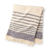 Go to Product: Bernat Twist & Weave Crochet Blanket in color