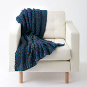 Caron Tiles In Style Crochet Blanket