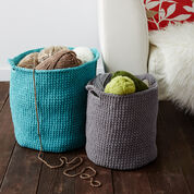 Bernat Stash Basket, Small