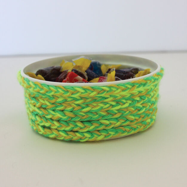 Caron Kids Craft Mock Basket Yarnspirations