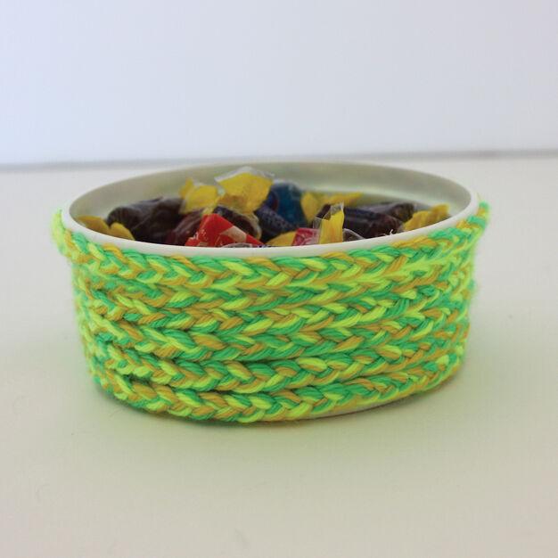 Caron Kids' Craft - Mock Basket