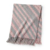 Go to Product: Caron Bias Striped Swirl Crochet Blanket in color