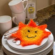 Red Heart Happy Sun Scrubby
