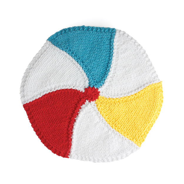 Lily Sugar'n Cream Beachball Dishcloth in color