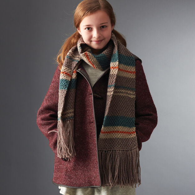 Patons Liesel's Scarf in color