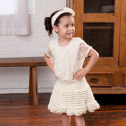 Go to Product: Red Heart Too Cute Skirt and Flower Headband, 12 mos in color