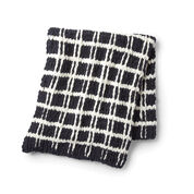 Bernat Alize EZ Mad for Plaid Blanket