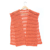 Go to Product: Caron Crochet Short Ruana, S in color