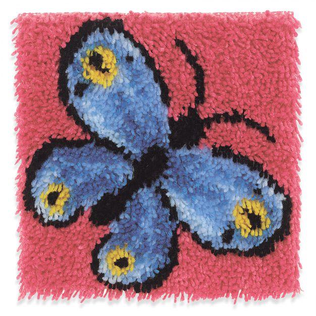 Wonderart Butterfly Kit 12 X 12 in color Butterfly