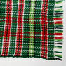 Red Heart Plaid Christmas Blanket in color  Thumbnail Main Image 4}