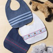 Go to Product: Coats & Clark Baby Bib Trio in color