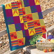 Go to Product: Patons Veggies and Stripes Blanket in color