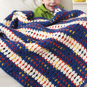 Go to Product: Bernat Woven-Look Striped Blanket in color