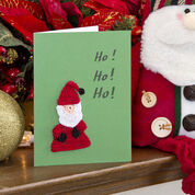 Go to Product: Aunt Lydia's Santa Christmas Card Motif in color