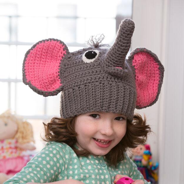 Crochet Pattern for Elephant Ear Hat | Crochet elephant, Elephant ... | 626x626